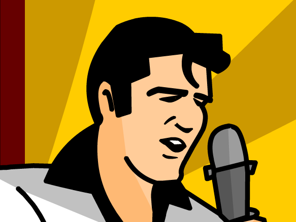 3 main topics about Elvis Presley?