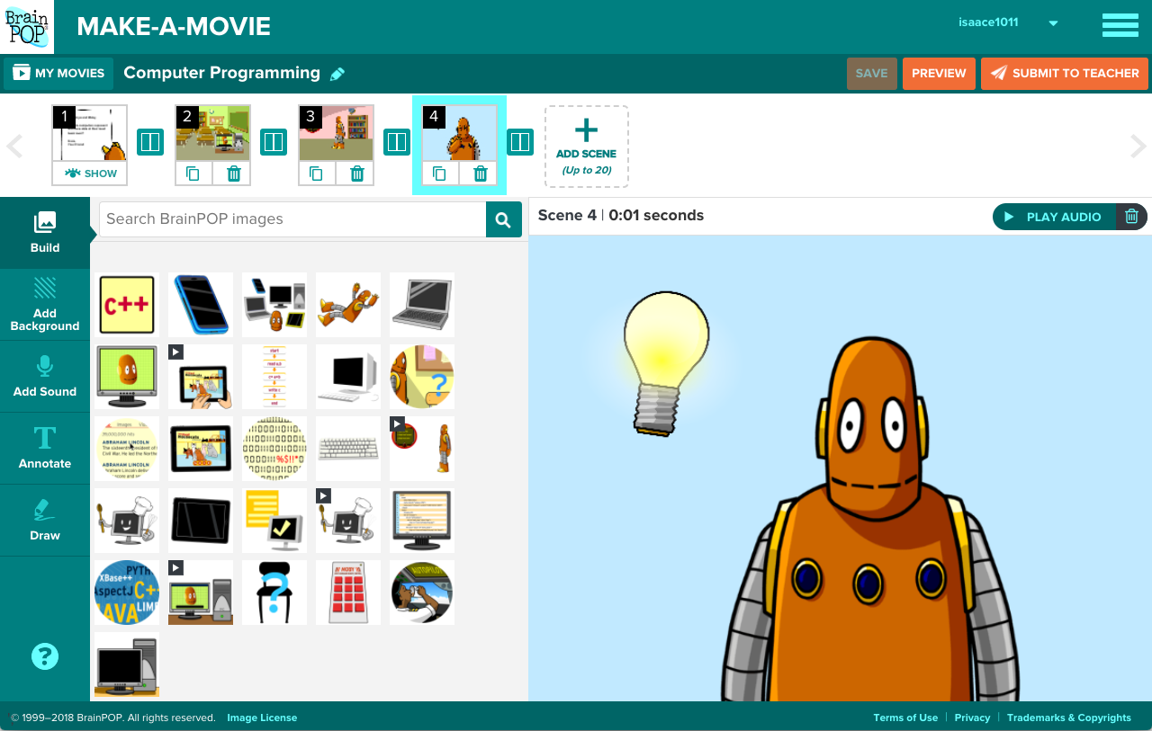 Image result for brainpop make a movie