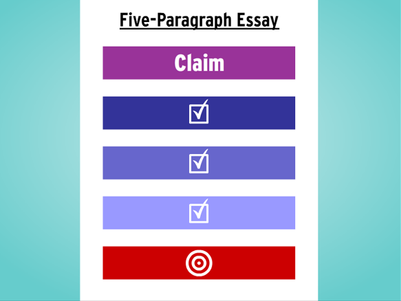 five paragraph essay lesson plans