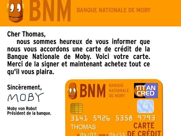 Image for Carte de crédit