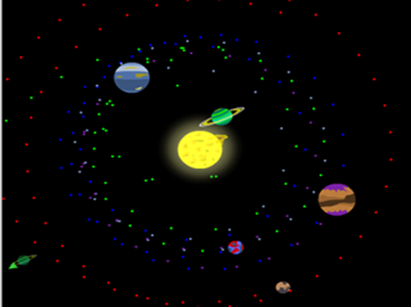 Slideshow image for Build a Solar System