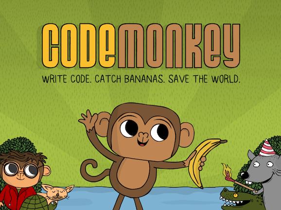 Slideshow image for CodeMonkey: Real Coding