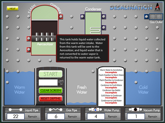 how to make a desalination device