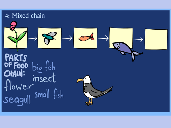 Slideshow image for Food Chain Game