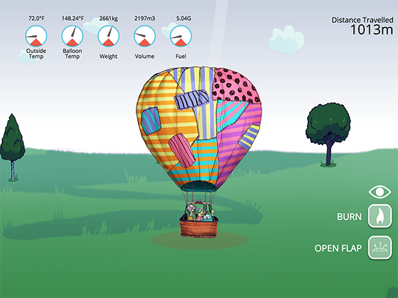 Hot air balloon lesson plans and lesson ideas brainpop for Air balloon games