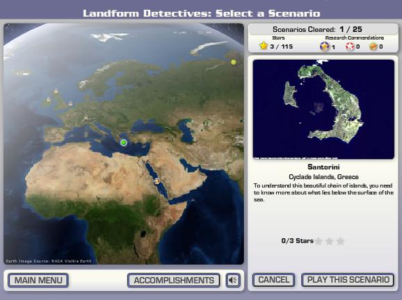 Slideshow image for Landform Detectives