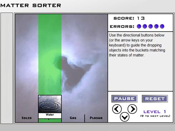 Slideshow image for Matter Sorter