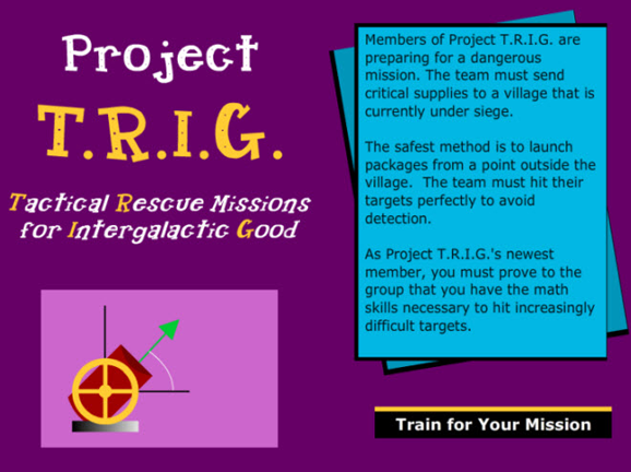 Slideshow image for Project T.R.I.G.
