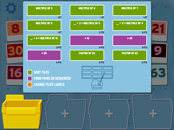 Slideshow image for Sortify: Multiplication
