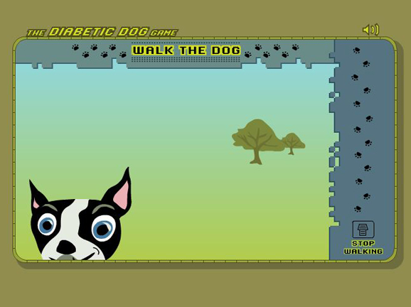 Slideshow image for The Diabetic Dog Game