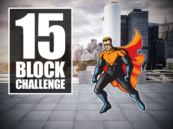Slideshow image for Tynker: 15-Block Challenge