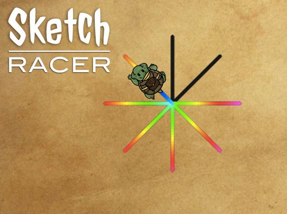 Slideshow image for Tynker: Sketch Racer