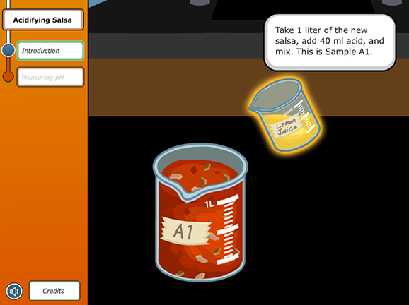 Slideshow image for Virtual Labs: Acidifying Salsa