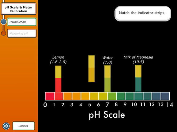 Virtual Labs pH Scale and Meter Calibration Lesson Plans and