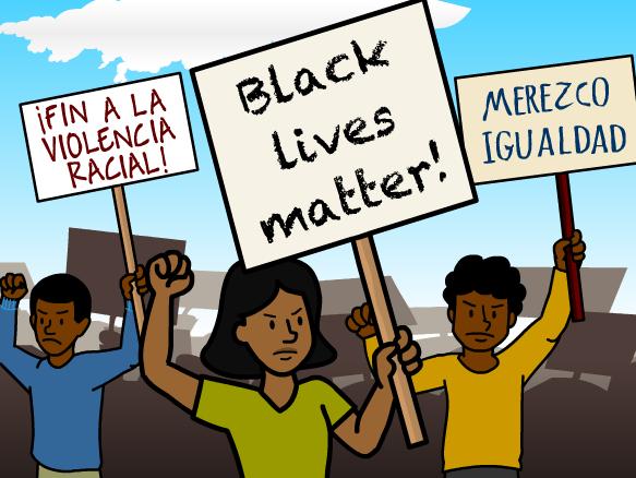 Image for Protestas de Black Lives Matter