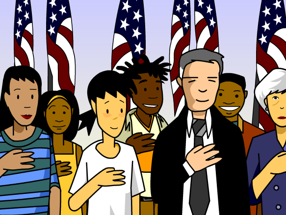 the definition of being an american When it comes to reporting their racial identity, latinos stand out from other americans in the 2010 census, for example, 94% of the us population selected at least one of the five standard, government-defined racial categories – white, black, asian, american indian or pacific islander but.