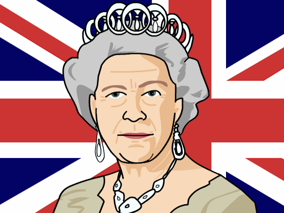 queen elizabeth cartoon clipart - photo #6