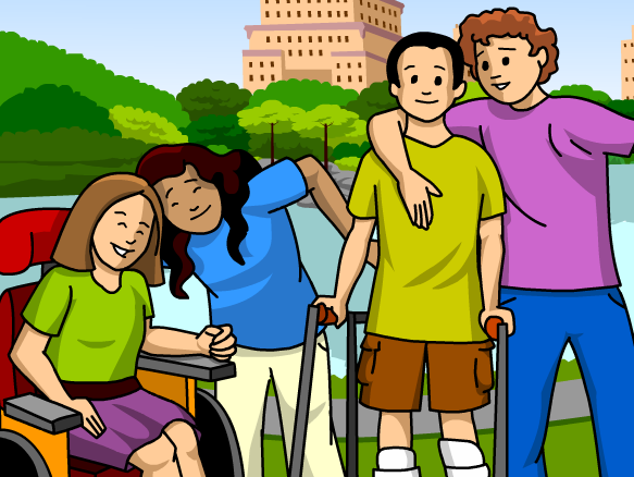 how to support a person with cerebral palsy