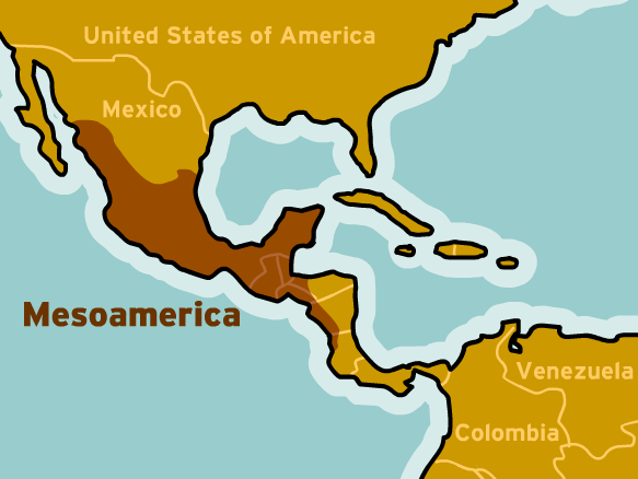 meso america Mesoamerica mesoamerica is the cultural area encompassing present-day  mexico and most of central america, where a number of civilizations with shared .